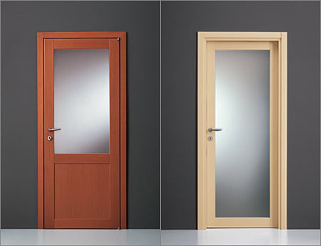 Las dos puertas el camino for Puertas para oficinas precios